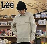 LEE ワークシャツ ベージュ M (LS2006 116)