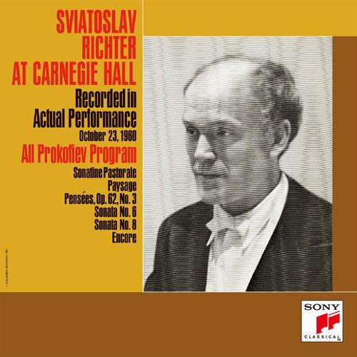 幻のカーネギー・ホール・ライヴ1960第2夜 プロコフィエフ:戦争ソナタ第6番&第8番