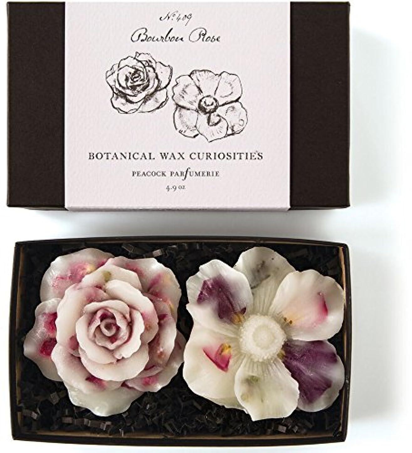 消える傾向がある劣るロージーリングス ボタニスト ボタニカルワックスキュリオシティ ブルボンローズ ROSY RINGS Botanist Collection Botanical Wax Bourbon Rose