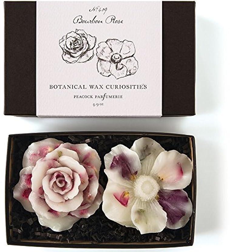 鉱夫石鹸慢ロージーリングス ボタニスト ボタニカルワックスキュリオシティ ブルボンローズ ROSY RINGS Botanist Collection Botanical Wax Bourbon Rose