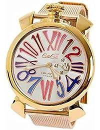 GaGaMILANO ガガミラノ メンズ 腕時計 クオーツ スリム46 プラカットオロ 5081.1 [並行輸入品]