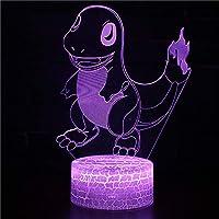 BEESCLOVER 3Dの恐竜の設計ナイトランプUSBナイトライトタッチコントロールと多色照明キッズクリスマスギフトホームインテリア