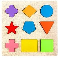 Lewo木製幾何図形パズル並べ替えゲーム早期開発教育玩具男の子女の子