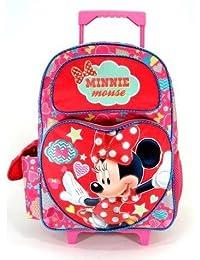 ディズニー ミニーマウス キャリーバッグ Lサイズ 【35527】