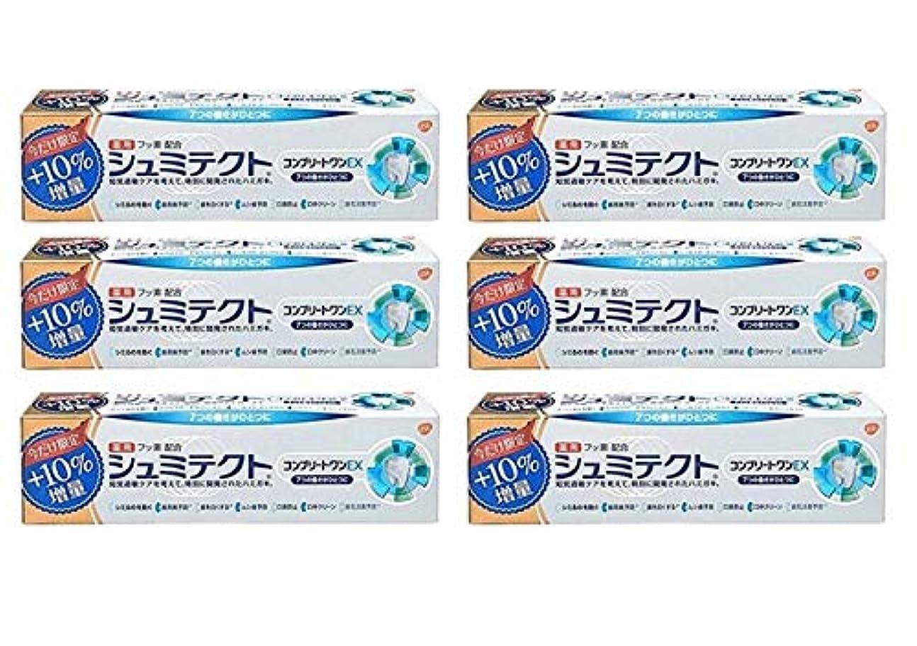 制限されたスタウト番号【6個セット】 薬用シュミテクトコンプリートワンEX増量99g