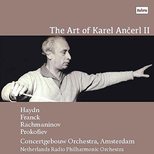 コンセルトヘボウの芸術II / カレル・アンチェル (The Art of Karel Ancerl II / Daniel Wayenberg - Karel Ancerl - Concertgebouw Orchestra, Amsterdam - etc.) [CD] [Live Recording] [日本語帯・解説付]