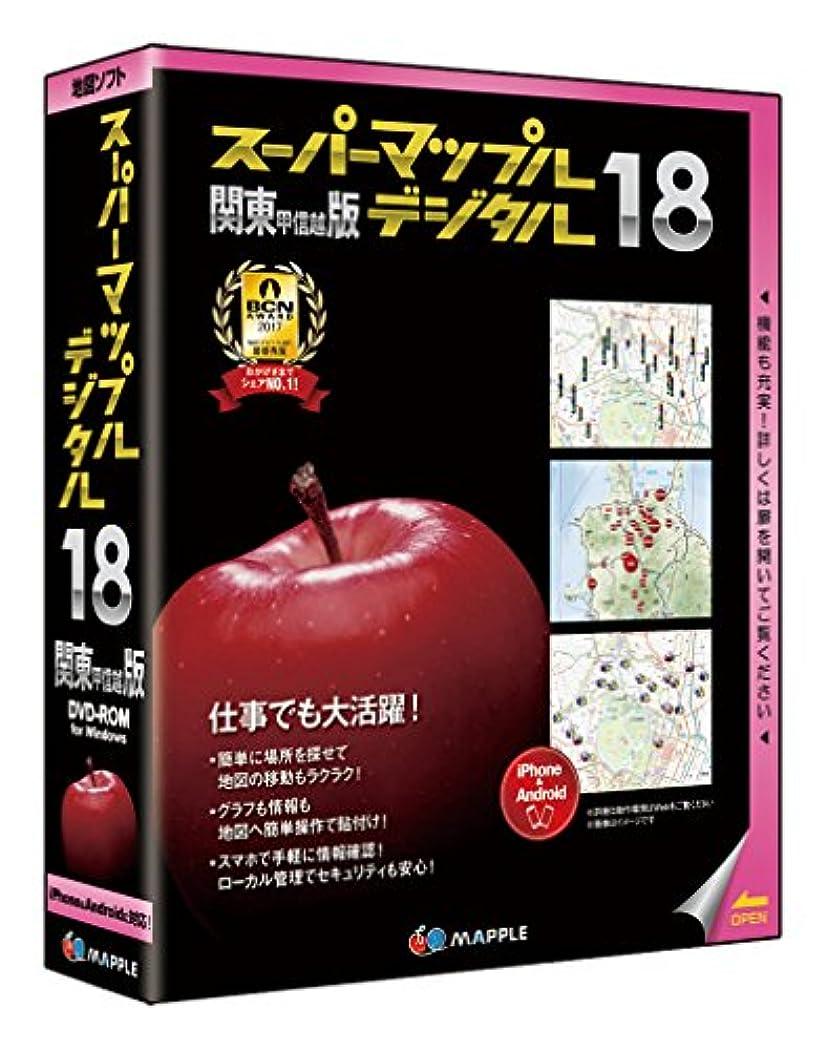 遺棄されたリゾート去るスーパーマップル?デジタル 18関東甲信越版