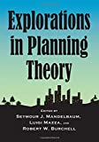 Explorations in Planning Theory 画像