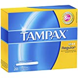 Tampax Regular Light flow 20 tampons with applicator