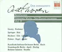 Beethoven;Unknown Works II