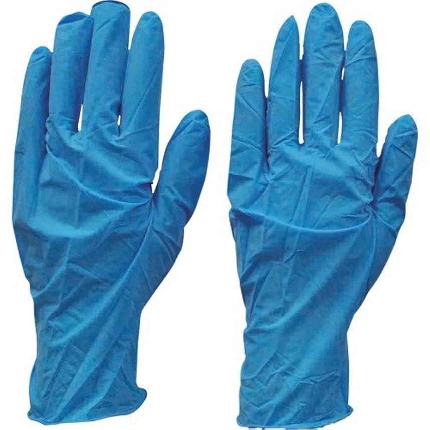 計算する荒れ地戻すダンロップ N-211 天然ゴム極うす手袋100枚入 Lブルー N211LB