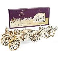 Ugearsユーギアーズ ロイヤルキャリッジ royal carriage 木製 ブロック おもちゃ 70050