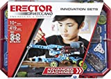Meccano Erector Advanced Machines Innovation Set S.T.E.A.M. リアルモーター付き組み立てキット