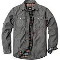 CQR Men's Long Sleeved Rugged Suede Shirts Jacket. Shirket
