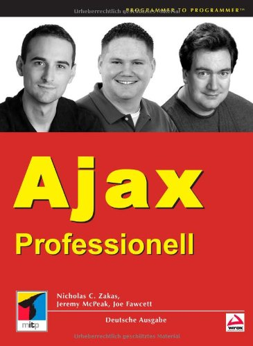 Professional Ajaxの詳細を見る