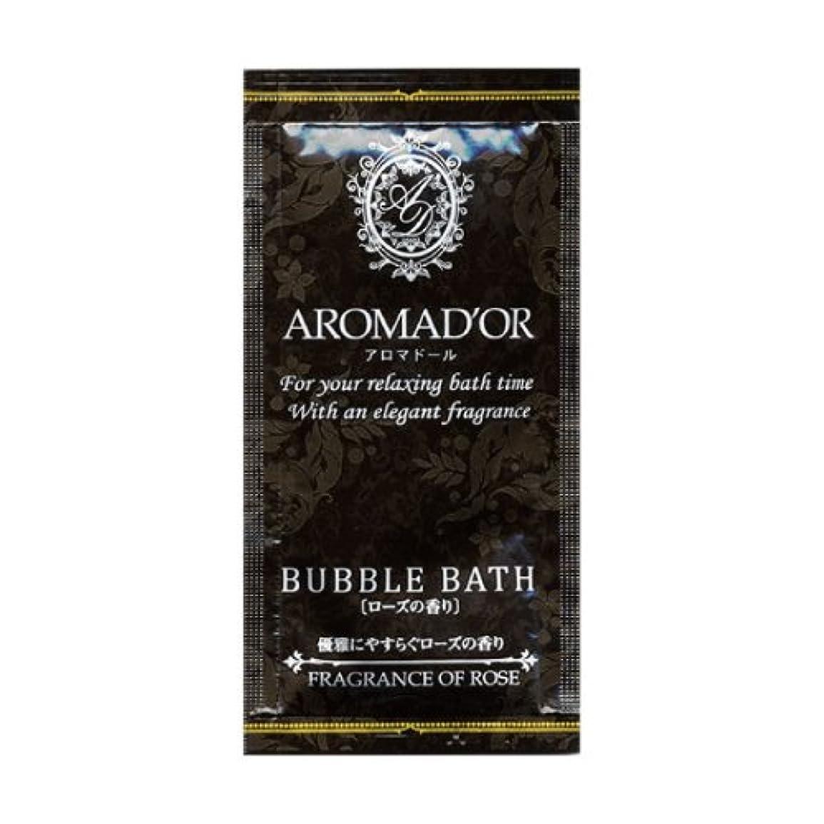 懲らしめ不公平使用法アロマドール バブルバス ローズの香り×12個セット
