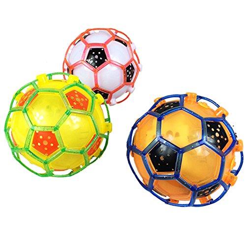 (トイホーム)Toy home  子供玩具 サッカーダンスボール フラッシュボール バウンドするボール 発光 音楽 カラフル