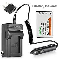 Kastar充電器、バッテリーfor cnp20–1np-20cnp-20
