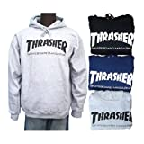 (スラッシャー) THRASHER マガジン ロゴ プルオーバー パーカー 3カラー