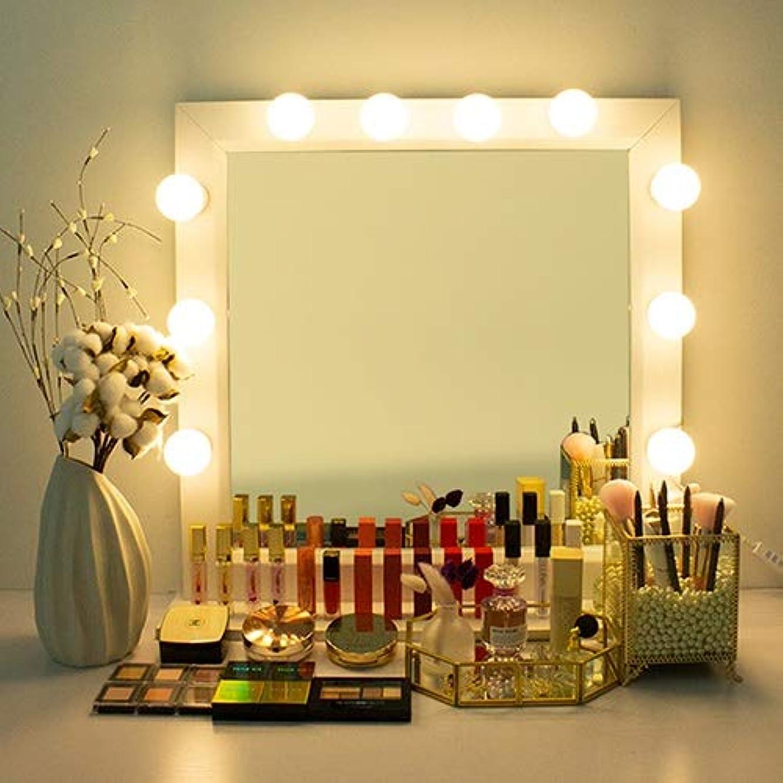 安定しました楕円形ドアPETIT THINGS LED プチシンスLED女神照明 芸能人化粧台 ハリウッドミラー 化粧鏡