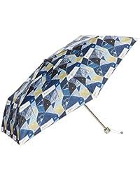 [ムーンバット]estaa×KESHIKI (UV加工) 住宅街 折りたたみ傘 ウィメンズ