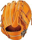 ZETT(ゼット) 軟式野球 ネオステイタス グラブ (グローブ) 新軟式ボール対応 ピッチャー用 オレンジ(5600) 右投げ用 BRGB31911