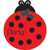 LadyBug Fancy Invitations てんとう虫ファンシー招待?ハロウィン?クリスマス?