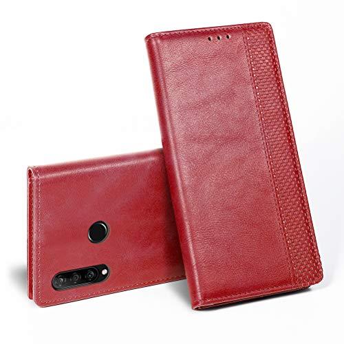 iHOY Huawei P30 Liteケース 手帳型 おしゃれ 革 カード入れ スタンド機能 柔軟 Huawei P30 Lite Premium au HWV33カバー レザー 衝撃吸収 薄型 新型