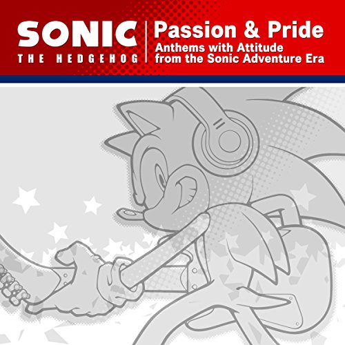 """Sonic The Hedgehog """"Passion & Pride"""" Anthems with Attitude from the Sonic Adventure Era - Instrumental Collection"""