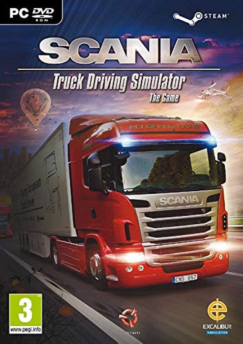 すすり泣き一次炭素Scania Truck Driving Simulator (PC DVD / Steam) (輸入版)