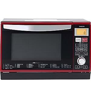 山善(YAMAZEN) オーブンレンジ 25L (温度センサー搭載)(フラット庫内)(縦開き扉タイプ) レッド YRE-F250V(R)