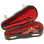 SUNRISE SOUND HOUSE サンライズサウンドハウス ミニチュア楽器 バイオリン 12cm