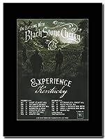 - Black Stone Cherry - Experience Kentucky Tour UK Dates 2016. - つや消しマウントマガジンプロモーションアートワーク、ブラックマウント Matted Mounted Magazine Promotional Artwork on a Black Mount