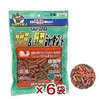 ドギーマン エクセル ササミ&野菜ジャーキーフード 400g 犬 おやつ ささみ 6袋入り