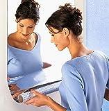 ミラー 反射板 反射シート レフ板 貼る鏡 ミラーシート ウォールステッカー おしゃれ 洗面所 玄関 廊下 階段 など 大きい 選べる 2 サイズ ( 200 cm × 50 cm )