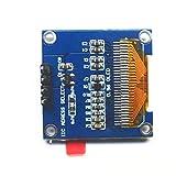 Dolity 高品質 LCDディスプレイモジュール OLED LED表示 IIC通信 解像度 128x64 Arduino用 0.96インチ