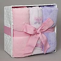 SoSoft??Baby Box for Girls by Berkshire Blanket