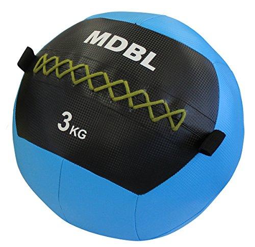 ソフトメディシンボール ウォールボール 『マニュアル付き』 体幹 強化 トレーニング ラバー製 柔らかくキャッチしやすい 【Fungoal】 メディシンボール 3kg