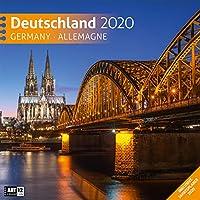 Deutschland 2020 Broschuerenkalender