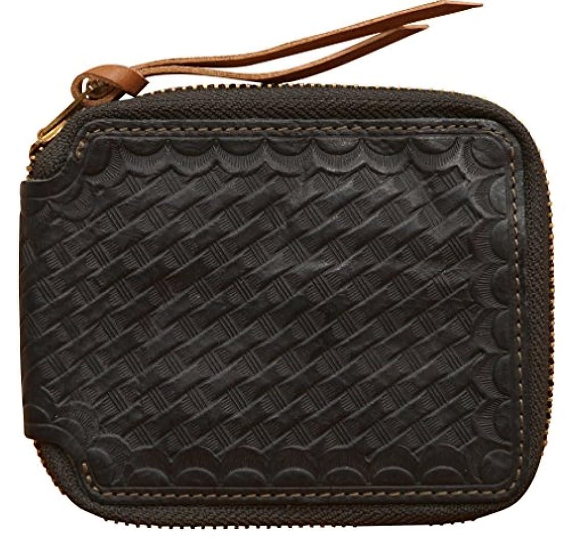 相手突き出す提案(ダブルアールエル) RRL Two-Toned レザー ラウンドジップ ウォレット 財布 Leather Wallet 並行輸入品 [並行輸入品]