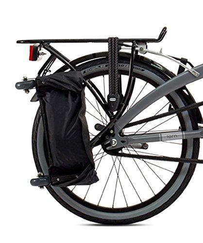tern(ターン) トロリーラック TrolleyRack ターン 折りたたみ 自転車用 リアキャリア キャスター 輪行袋 セット