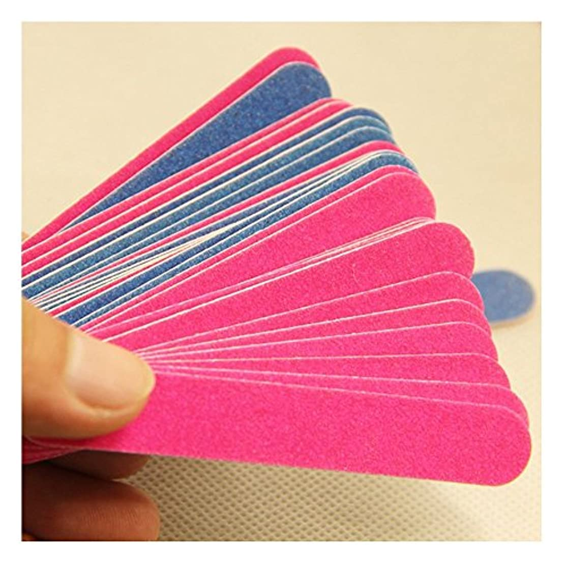 講師荒廃する郵便爪やすり 紙製 ネイルツールセット 爪磨き 足の爪 ペットの爪 犬爪 ねこ 携帯 持ちやすい 小 20点入り