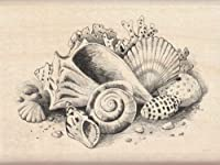 Inkadinkado 60-00208 Seashells Wood Stamp