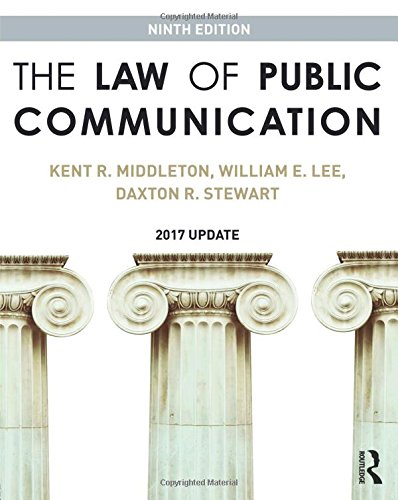 Download The Law of Public Communication 1138692247