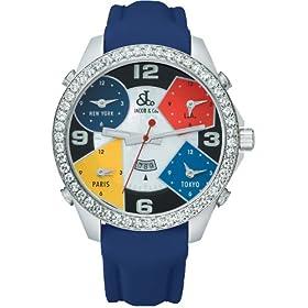 JACOB&Co. (ジェイコブ) 腕時計 ファイブタイムゾーン JC-4D クォーツ