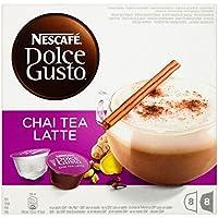 Nescafe Dolce Gusto Chai Tea Latte (8 per pack) ネスカフェドルチェグストのチャイティーラテ(パックあたり8 )