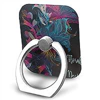 TOTOPM スマホリング 携帯リング スタンド バンカーリング 多色 花のデザイン 360°回転 リングホルダー 指輪リング 強吸着力 薄型 落下防止 IPhone/iPad/iPod/Galaxy/Xperia/スマートフォン・タブレット 全機種対応