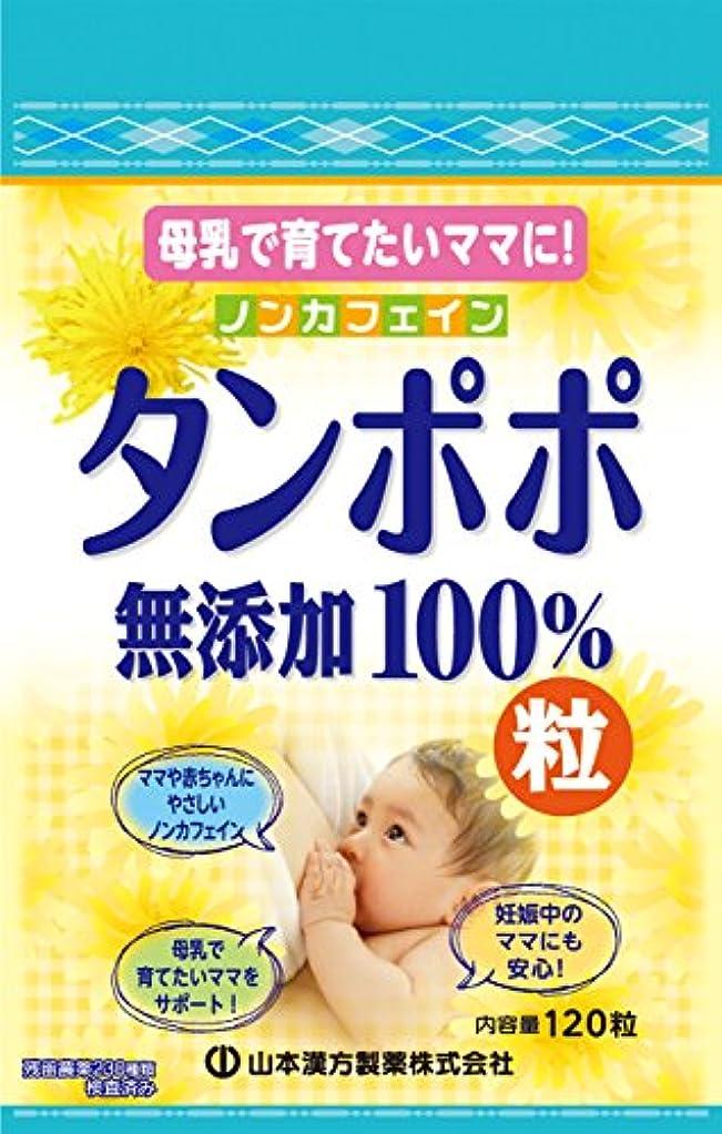 あざ岸描く山本漢方製薬 タンポポ粒無添加100% 120粒
