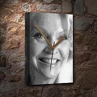 SANDRA DICKINSON - キャンバス時計(LARGE A3 - アーティストによる署名入り) #js001