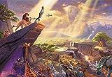 1000ピース ジグソーパズル Thomas Kinkade ライオン・キング The Lion King スペシャルアートコレクション (51×73.5cm)